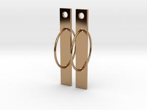 Bar None in Polished Brass (Interlocking Parts)