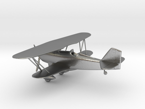 Curtiss P-6 Hawk biplane in Natural Silver: 1:96