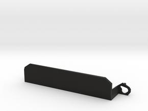Custom nameplate in Black Natural Versatile Plastic