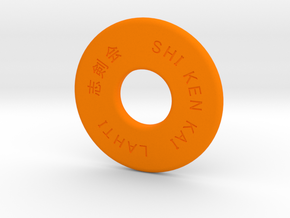 Shinai M in Orange Processed Versatile Plastic