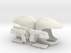 Pilot Pyramid Game (Battlestar Galactica TRS), 1/6 in White Natural Versatile Plastic