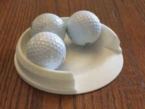 Putt Cup Model 16 in White Natural Versatile Plastic