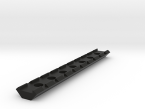 21mm Rail 145mm in Black Natural Versatile Plastic