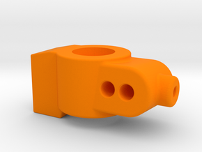 5 DEGREE - CUSTOM WORKS DO REAR HUB CARRIER in Orange Processed Versatile Plastic