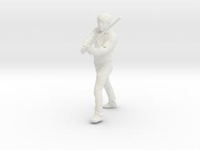 Printle C Homme 001 - 1/20 - wob in White Natural Versatile Plastic