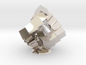 Cubic Helix in Platinum