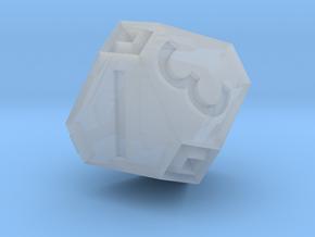 Sorcerer D8 in Smooth Fine Detail Plastic