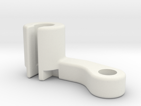 Filament Bracket Right handed in White Strong & Flexible