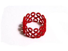 Eighty-Eight Ring in Red Processed Versatile Plastic: 8.5 / 58