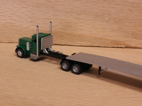 1:160 N Scale Headache Rack for Semi Tractors in Smooth Fine Detail Plastic