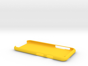 Case for Iphone 6 (XL) in Yellow Strong & Flexible Polished