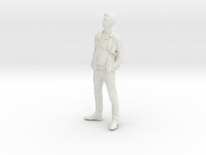 Printle C Homme 015 - 1/20 - wob in White Natural Versatile Plastic
