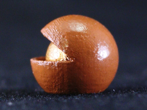 Nut in Smooth Fine Detail Plastic