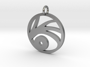 A series of unfortunate events VFD pendant in Natural Silver