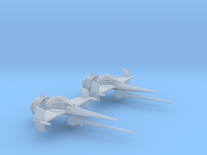 Swordfish II (20MM) in Smooth Fine Detail Plastic