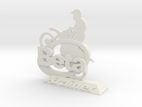 Beta xtrainer picture holder in White Natural Versatile Plastic: 1:20