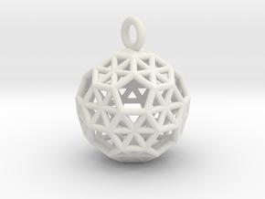 B80_Ih in White Natural Versatile Plastic