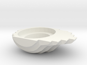 Pot in White Natural Versatile Plastic