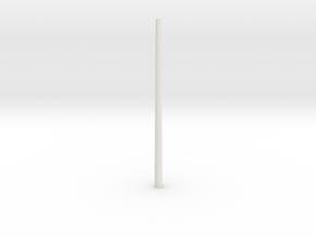 1/16 scale M50 barrel. in White Natural Versatile Plastic