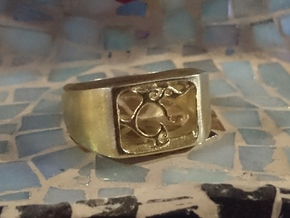 Segunda - The One Ring in Natural Brass