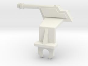 MASK Firecracker Cannon Driver´s Side in White Natural Versatile Plastic