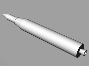 1/200 Juno II Rocket in White Natural Versatile Plastic