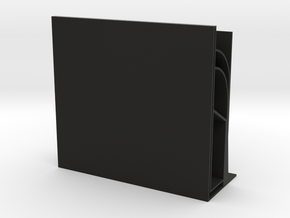 Flying Buttress Bookends(plastic version) in Black Natural Versatile Plastic