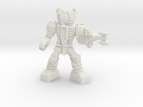 Waruder, Kuwagatrer Trooper, Firing, 35mm Mini in White Strong & Flexible