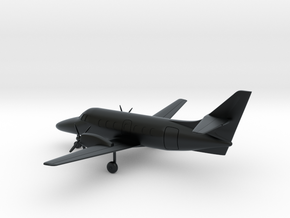 British Aerospace Jetstream 31 in Black Hi-Def Acrylate: 1:87 - HO