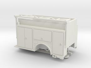 1/64 KME Camden engine bodu w/ ladder rack in White Natural Versatile Plastic
