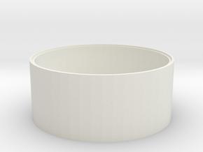L 62 Betonschacht Boden in White Natural Versatile Plastic