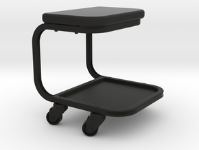 Rolling Mechanic Seat - 1/10 in Black Strong & Flexible