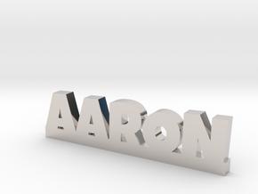 AARON Lucky in Platinum