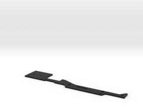 CMAX+D110 Raffee Body INNER Floor Tray in Black Natural Versatile Plastic