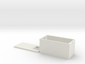 L 71 Betonsammelbehälter in White Natural Versatile Plastic