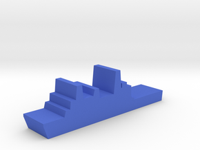 Game Piece, Blue Force, San Antonio Landing Ship in Blue Processed Versatile Plastic
