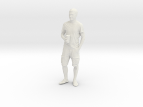 Printle T Homme 092 - 1/18 - wob in White Natural Versatile Plastic