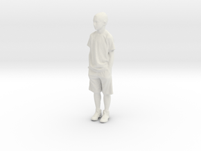 Printle C Homme 040 - 1/20 - wob in White Natural Versatile Plastic
