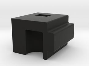 Mp40 Adapter m12 sidewinder in Black Natural Versatile Plastic