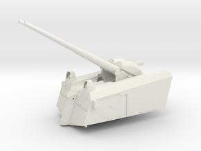 1/32 DKM SK/L65 C33 10.5 cm AA twin Gun in White Natural Versatile Plastic