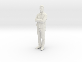Printle C Homme 051 - 1/20 - wob in White Natural Versatile Plastic