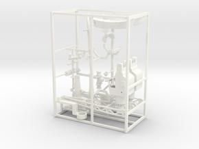 Coaster 840, Details (1:160 scale) in White Processed Versatile Plastic