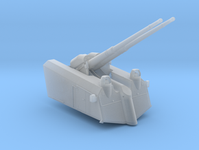 1/72 Germany SK/L65 C33 10.5 cm AA twin Gun in Smooth Fine Detail Plastic