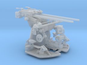 1/72 DKM 3.7 cm SK C/30 Twin Gun Mounting in Smooth Fine Detail Plastic