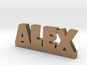 ALEX Lucky in Natural Brass