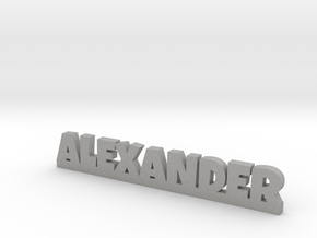 ALEXANDER Lucky in Aluminum