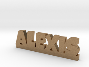 ALEXIS Lucky in Natural Brass