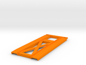 Car Hauler Ramps in Orange Strong & Flexible Polished
