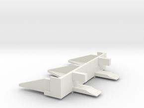 1:16 M5A1 Stuart Cullin Hedgerow Cutter I -BGv1 in White Natural Versatile Plastic