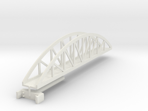 bridge stretch 180 mm t-gauge in White Natural Versatile Plastic